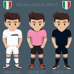 Palermo Soccer Club Kits 2016/17 Serie A