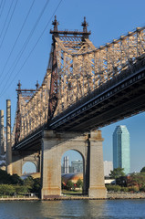 Queensboro (Ed Koch) Bridge from Manhattan