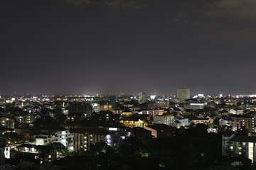 Panorama view of Chiangmai city