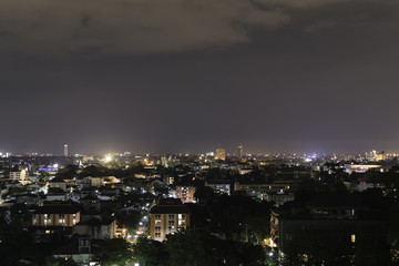 Panorama view of Chiangmai city