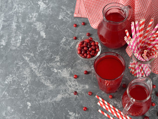 Natural cranberry juice