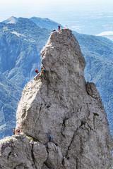 Scalatori nelle alpi