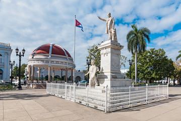 Marti Park and Statue of Jose Marti in Cienfuegos, Cuba