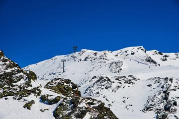 Winter ski reasort