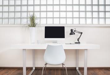 Office interior mockup
