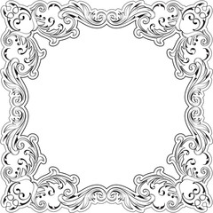 Decor fine art border