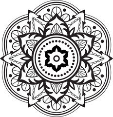 Fine ornate mandala