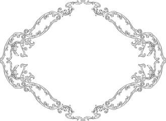 Luxury baroque decor page