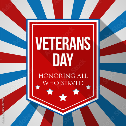 veterans day background usa patriotic colorful template for