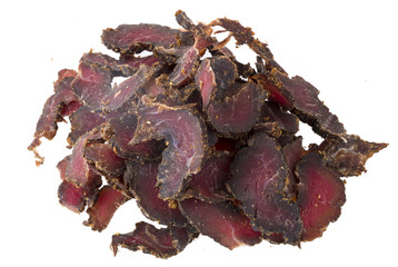 South African Beef Biltong Delicacy