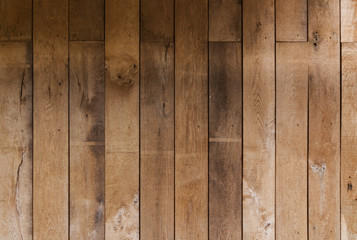 Brown wooden plank texture wall background old
