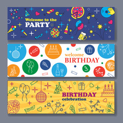 Banner or Template design for Musical Party celebration.