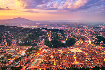 Brasov City in Romania