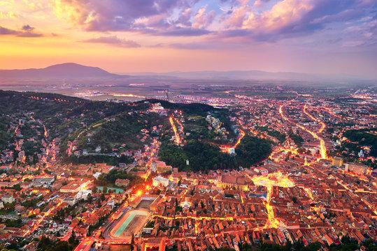 Brasov City in Romania