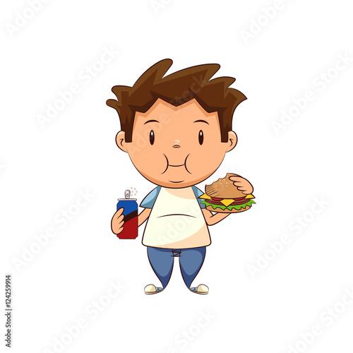 illustration essay child obesity