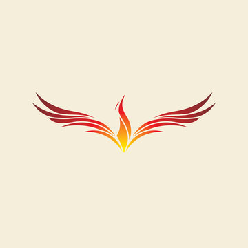 phoenix bird fire logo