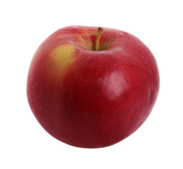 red apple isolated on white background, with clipping path
