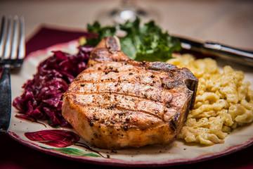 Pork Chop - Food Photography