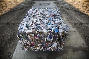 Recycling; Saskatchewan, Canada