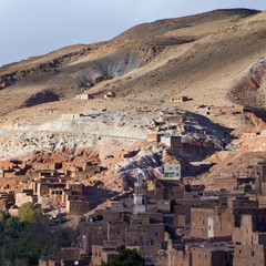 Residential buildings on a hillside