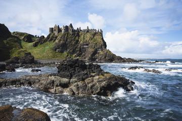 Dunluce castle;County antrim northern ireland