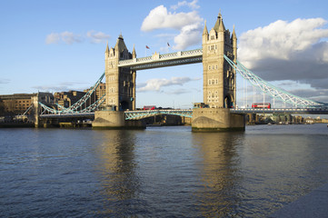 Tower Bridge; London, England