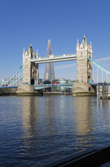 Tower Bridge; London, England