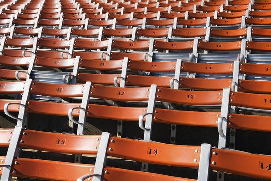 Stadium seating;Saskatchewan canada