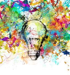 Fototapete - Creative and colorful idea