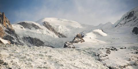 Snow covered mountains, Chamonix-Mont-Blanc