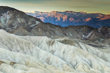 Zabriskie Point at first light, Death Valley National Park; California, United States of America