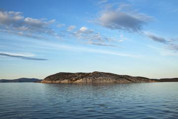 Atlantic coastline, north of Nain; Labrador, Canada