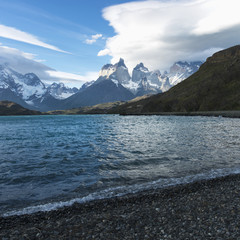 Grey Lake, Torres del Paine National Park; Torres del Paine, Magallanes and Antartica Chilena Region, Chile