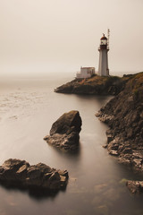 Lighthouse; British Columbia, Canada