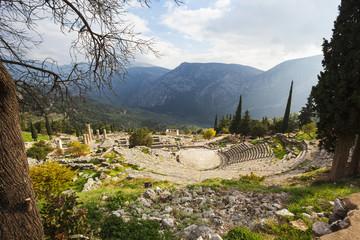 Delphi Theatre; Delphi, Greece