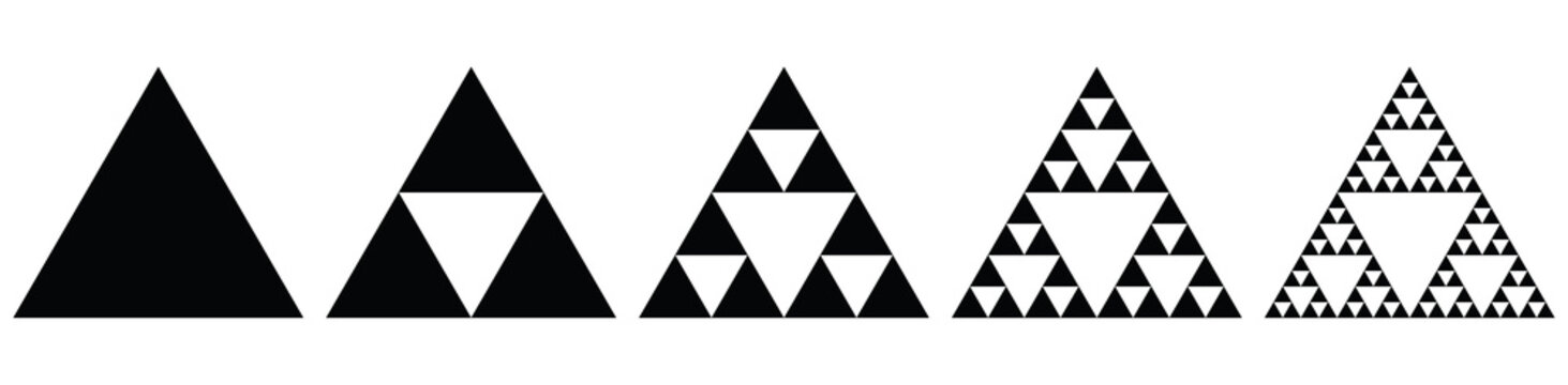 Fractal - Sierpinski Triangle (evolution)