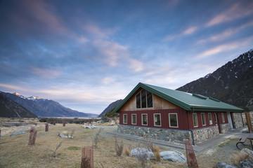 Mountain Peak MT. Cook share kitchen