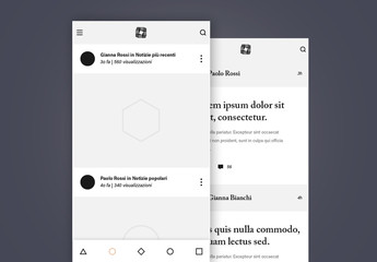 Kit wireframe elegante