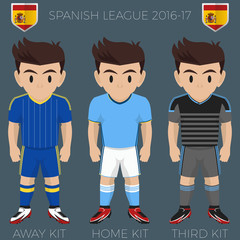 Vigo Soccer Club Kits 2016/17 La Liga