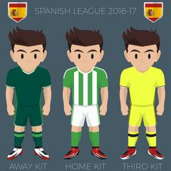 Seville Soccer Club Kits 2016/17 La Liga