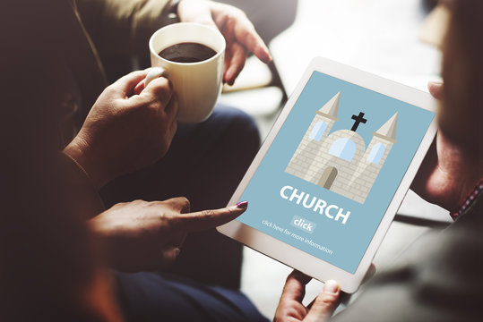 Church Faith Religious Temple Worship Assembly Concept
