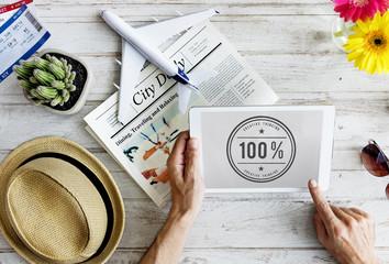 100% Creativity Ideas Imagination Inspiration Concept