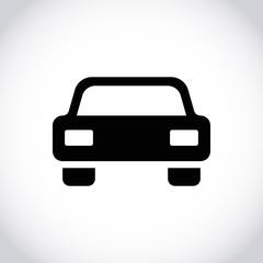 car icon stock vector illustration flat design