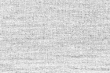 Texture of white raw fabric for the background design.