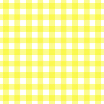 Seamless bright canary yellow gingham pattern. Traditional background for tablecloths, banqueting rolls, placemats, napkins, drawer & shelf liners. Textile print for shirts, pajamas, bedding sets.