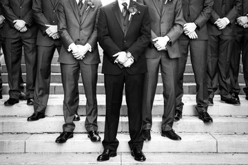 Classy Groomsmen