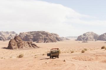 Van Jordan Wadi Rum Desert