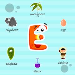 Funny letter E