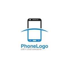 Phone Creative Concept Logo Design Template