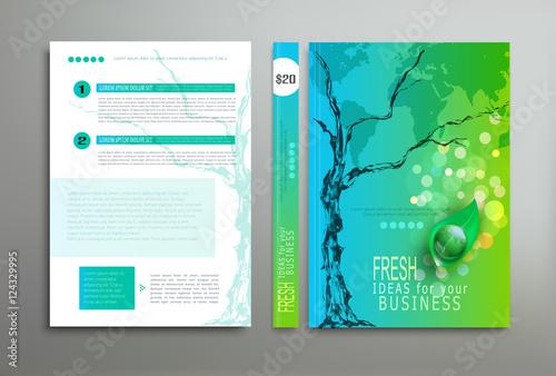 brochure book report